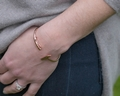 Polo Mallet Bangle - Rose Gold